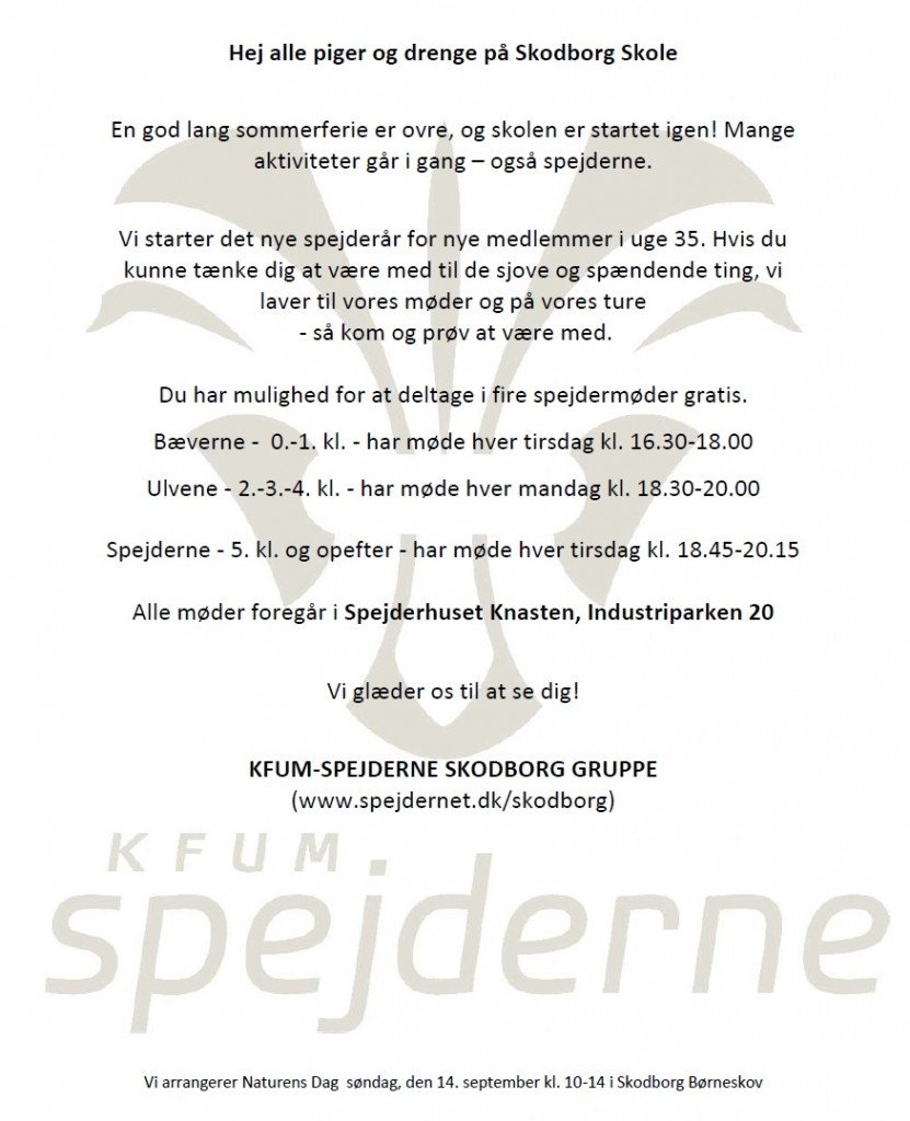 Spejderopstart-2014